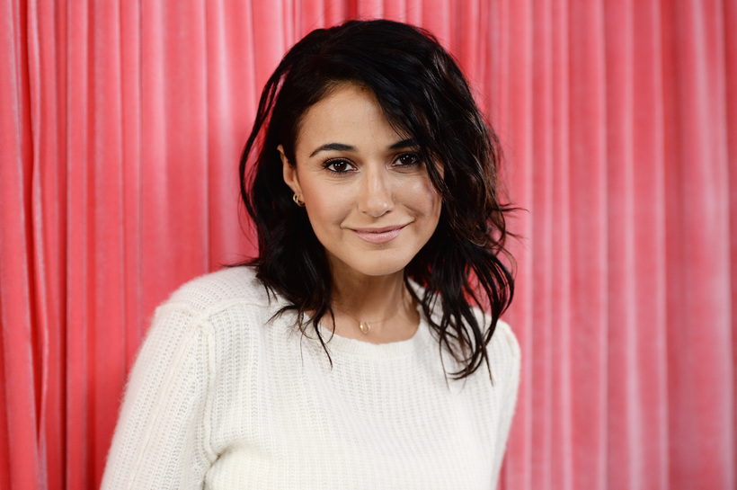 Michael Kovac/Getty Images for Park City Live Actress Emmanuelle Chriqui attends the Hub for Park City Live