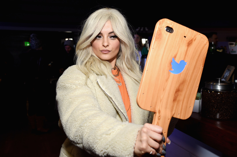 Michael Kovac/Getty Images for Park City Live Singer Bebe Rexha attends the Hub for Park City Live
