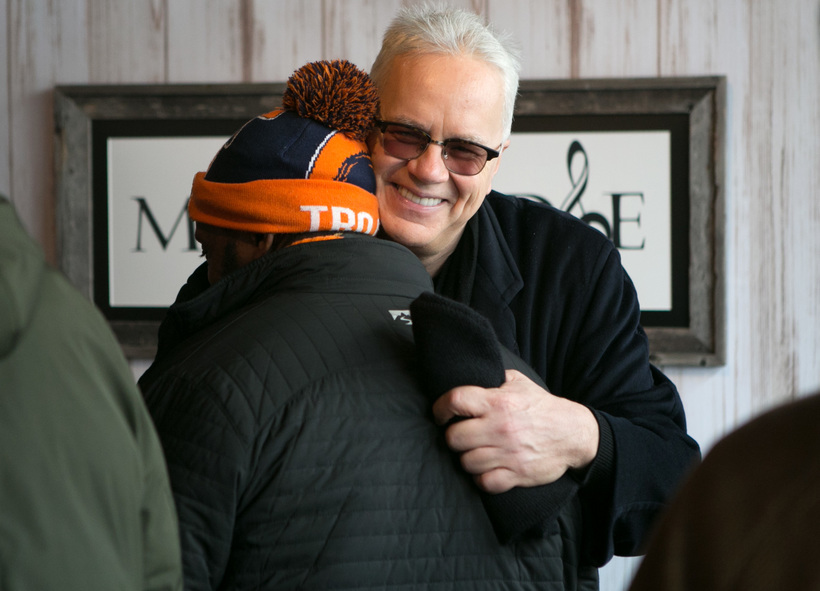 Jud Burkett/Invision for The Music Lodge/AP Images Tim Robbins at the Music Lodge during the Sundance Film Festival.