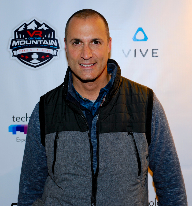 Nigel Barker attends VR ON THE MOUNTAIN during Sundance Film Festival.