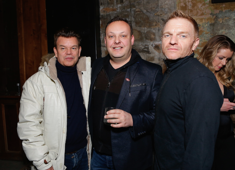 Paul Oakenfold and friends attend the third night of ChefDance.