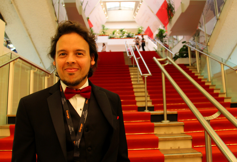 Director Javier Badillo at Cannes Film Festival 2017