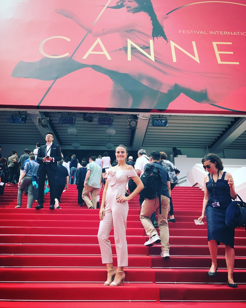 Daphne Schmon at the premiere of- All Of Me - Cannes Film festival 2017