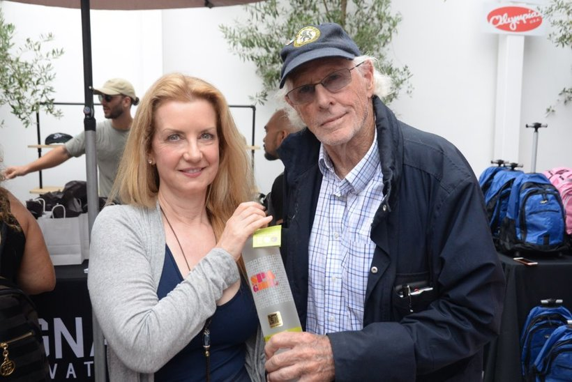 "Bruce Dern, Multiple Oscar Nominee, (""Nebraska, ""Coming Home"") with Spa Girl Vodka"