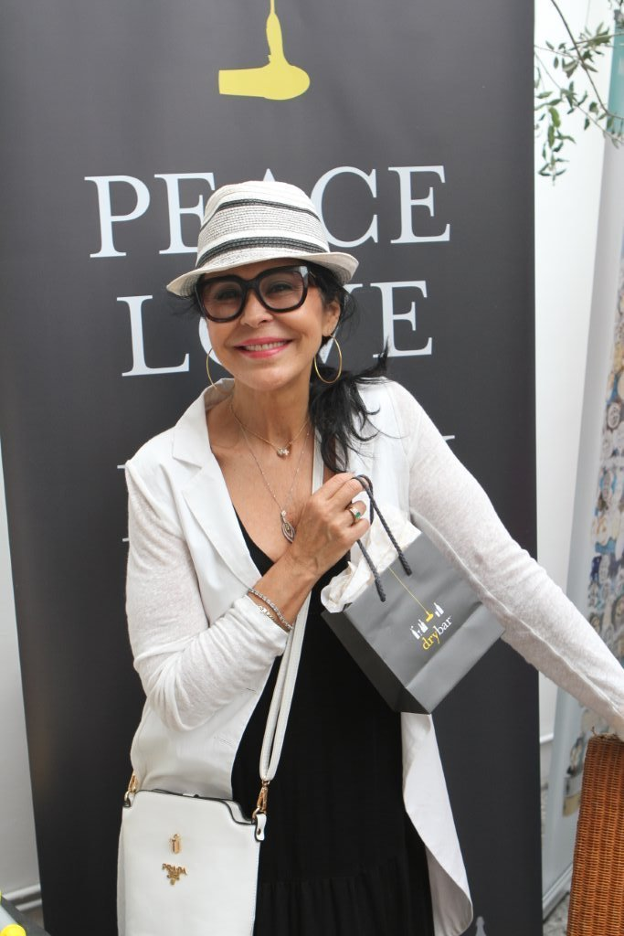 Maria Conchita Alonso, Multiple Award-Winning Actress with Dry Bar