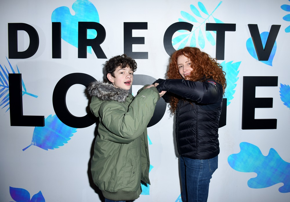 Noah Jupe (L) and Alma Ha'rel