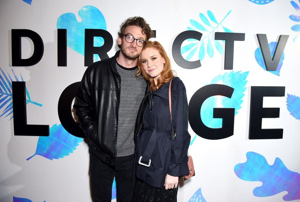 Josh Sude (L) and Madisen Beaty