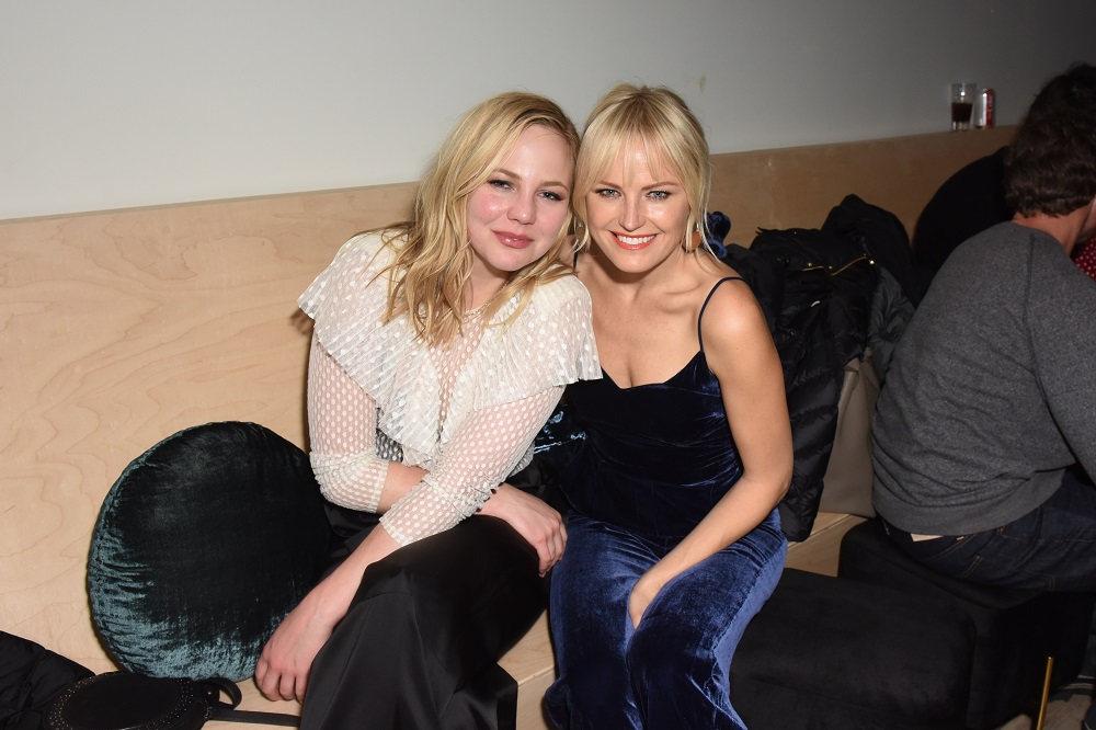 Adelaide Clemens (L) and Malin Akerman