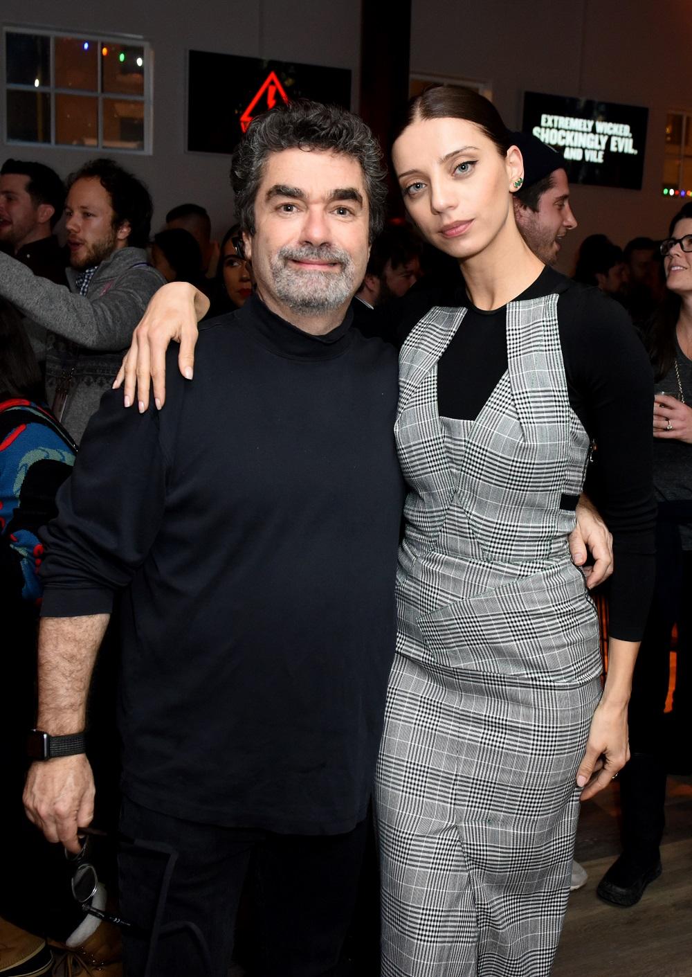 Joe Berlinger (L) and Angela Sarafyan