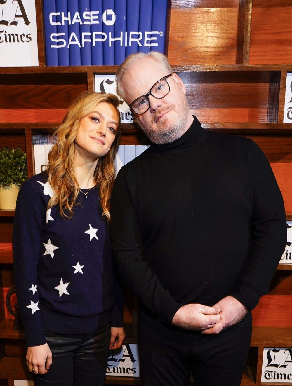 Marin Ireland and Jim Gaffigan