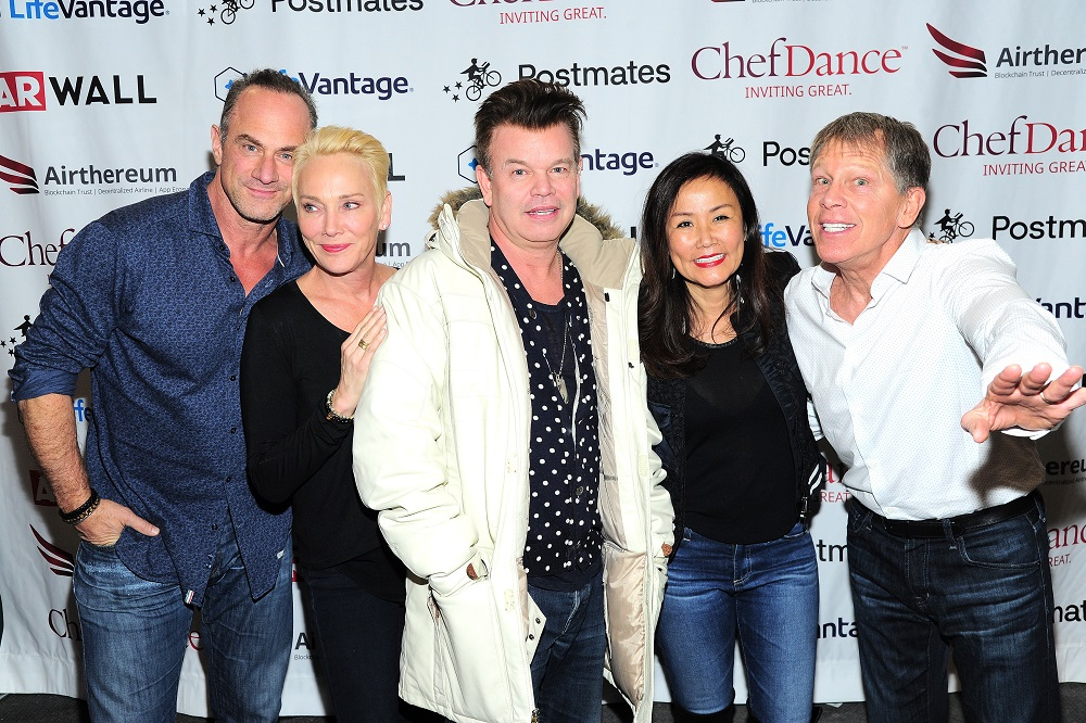 Christopher Meloni, Sherman Williams, Paul Oakenfold, Mimi Kim, and Kenny Griswold