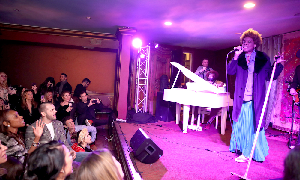 Macy Gray performs during ChefDance Storytellers Dinner Series