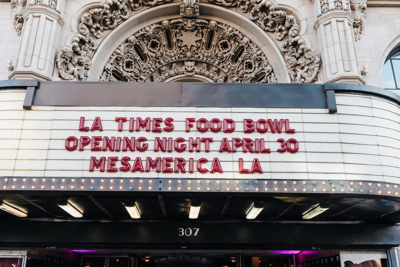 Los Angeles Food Bowl 2019