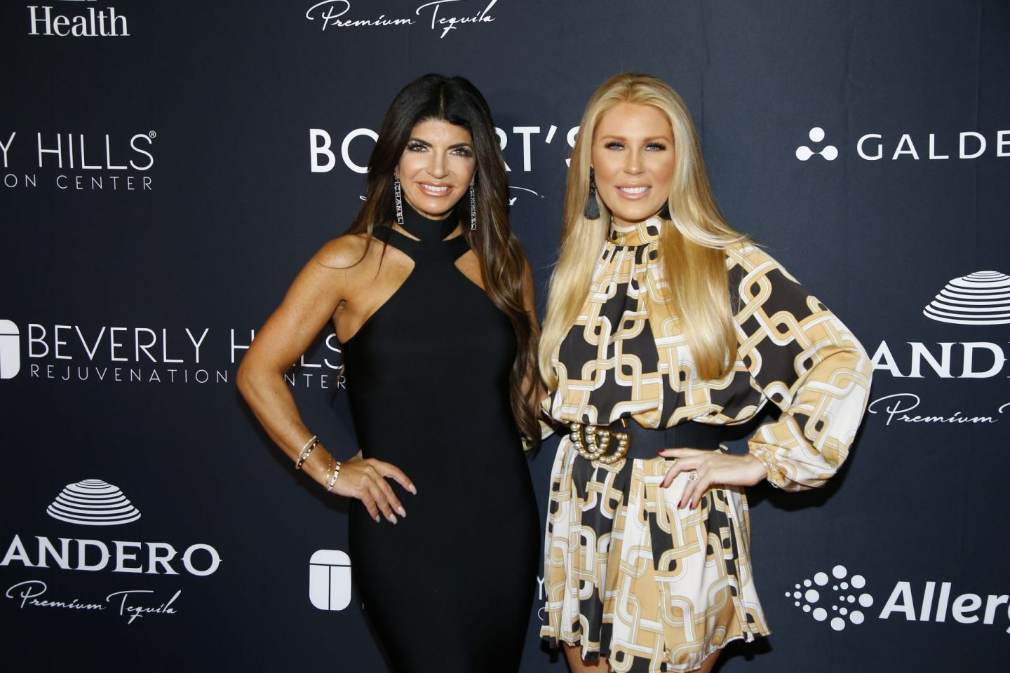 Real Housewives Teresa Giudice and Gretchen Rossi