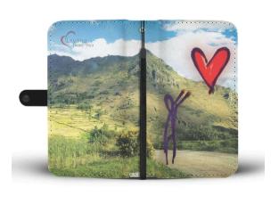 Living Heart Peru Smartphone Case