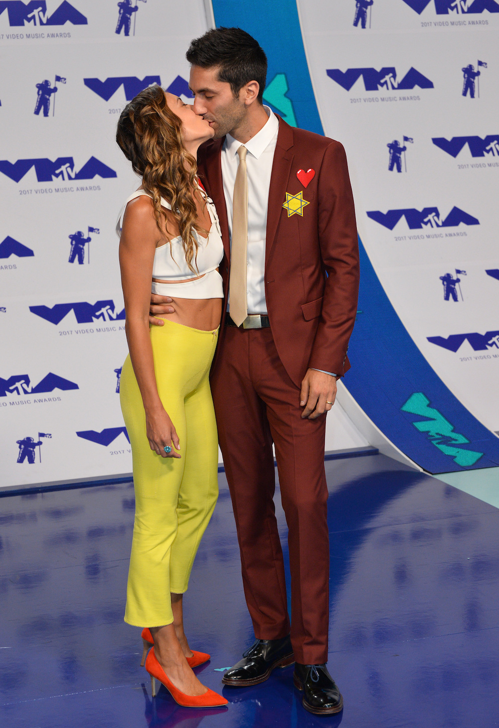 Nev Schulman and Wife