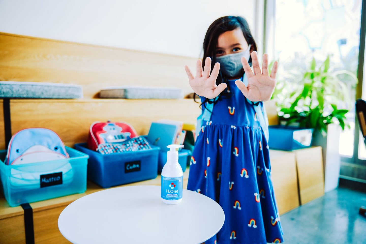 H2One Hand Sanitizer Hits a Home Run for Bronx Kids!