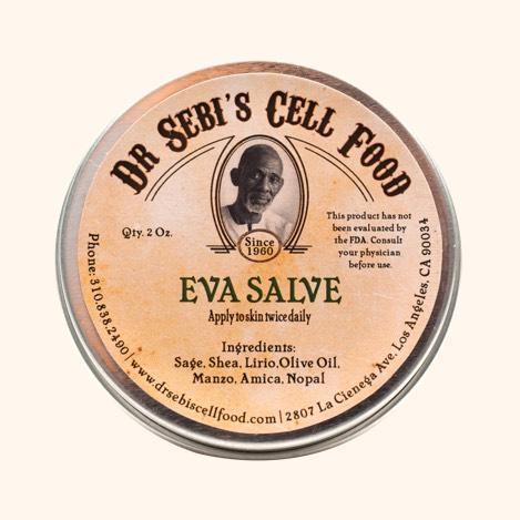 Dr. Sebi's Cell Food Eva-salve