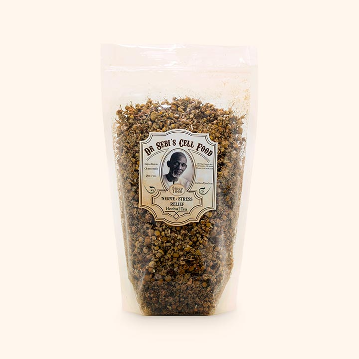 Dr. Sebi's Cell Food Nerve-Stress Relief Herbal Tea