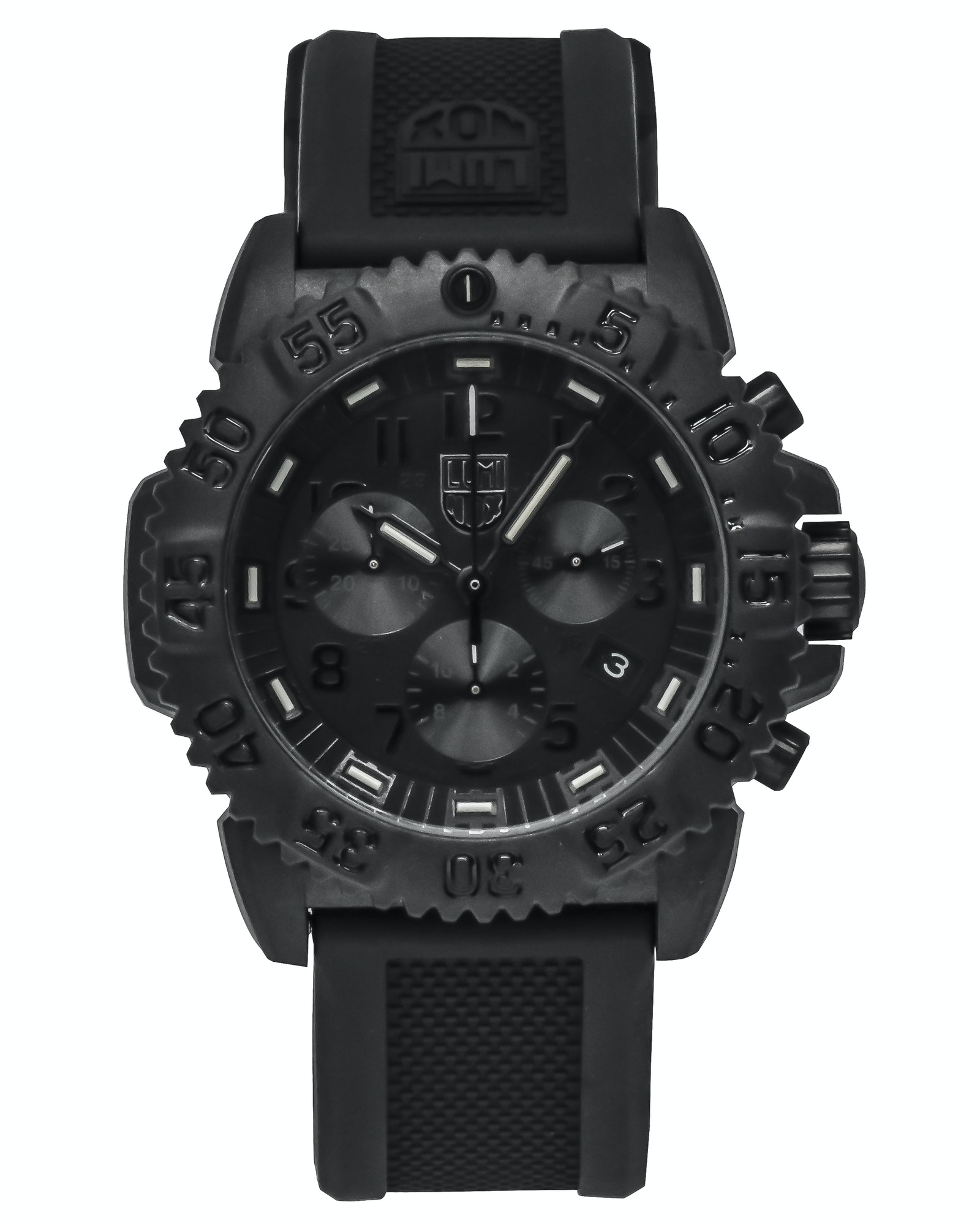 Luminox Navy Seal Colormark Blackout Dial Chronograph Quartz Men's Watch