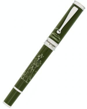 Montegrappa The Secret Life Of Dali LE Green Fountain Pen