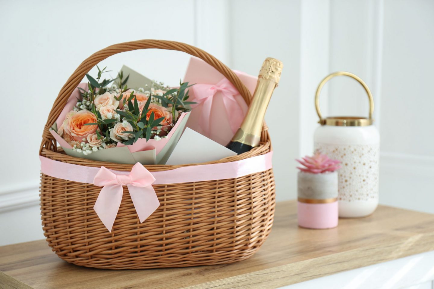 Create Your Own Luxury Spring Gift Basket
