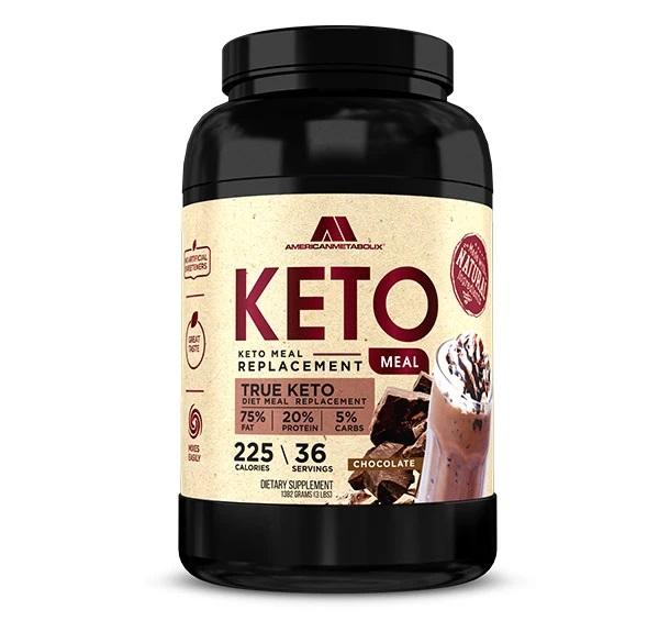 American Metabolix's Keto Meal Chocolate Shake