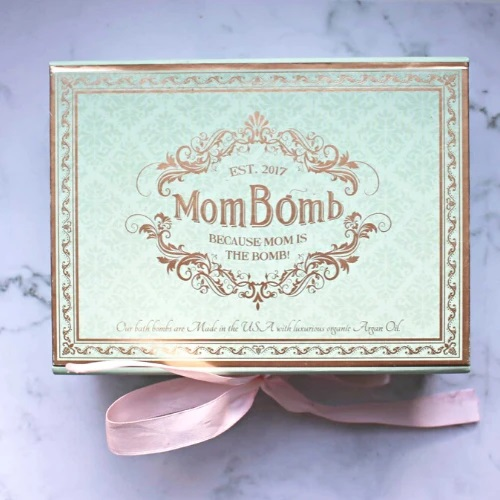 Mom Bomb Bath Bombs