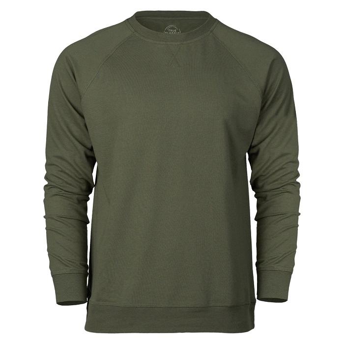 True Classic Military Green Sweatshirt