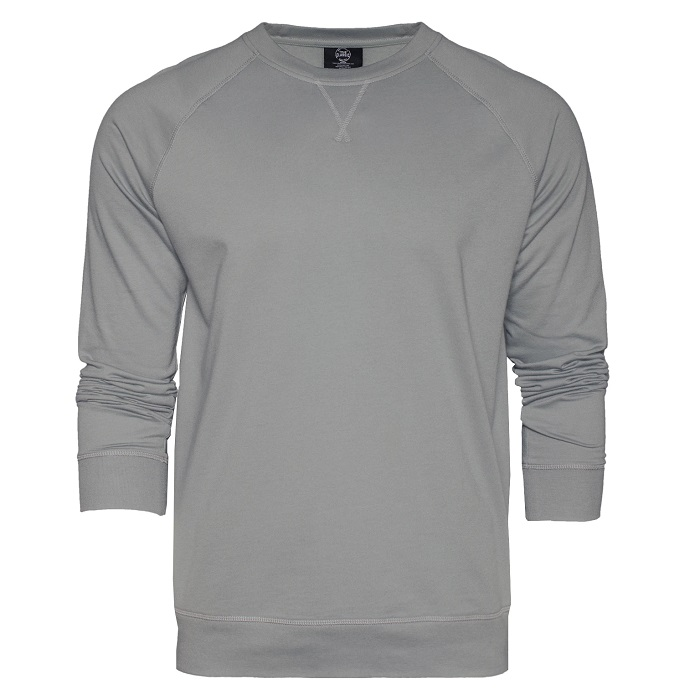 True Classic Slate French Terry Sweatshirt